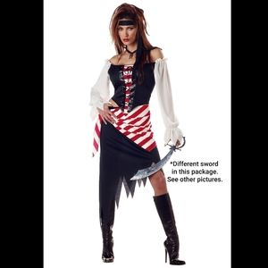 California Costumes Other - ⭐️CLOSET CLOSING⭐️ NEW Women's 5pc Pirate Costume